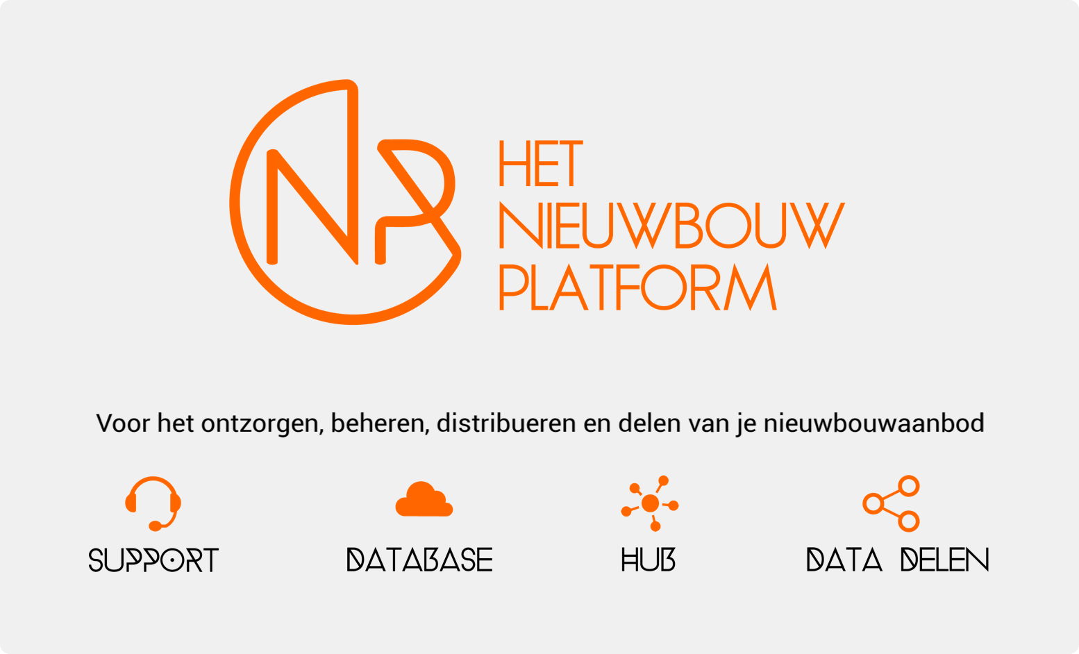 Support, Database, Hub, Data Delen